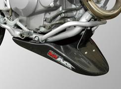 XR250モタード アンダーカウル FRP製・黒 MAGICAL RACING(マジカルレーシング)