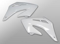 XR250モタード ラジエターシュラウド FRP製・黒 MAGICAL RACING(マジカルレーシング)