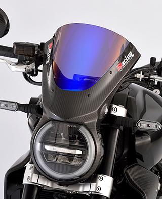 バイザースクリーン/平織りカーボン製/スモーク MAGICAL RACING(マジカルレーシング) CB1000R(18年)