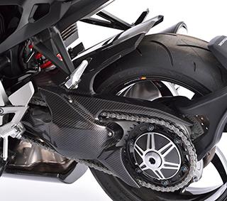 リアフェンダー/綾織りカーボン製 MAGICAL RACING(マジカルレーシング) CB1000R(18年)