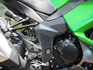 フレームガード(左右セット)/平織りカーボン製 MAGICAL RACING(マジカルレーシング) Ninja1000(ニンジャ1000)18年