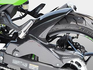 リアフェンダー/綾織りカーボン製 MAGICAL RACING(マジカルレーシング) Z400(18年)