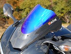VFR800(14年) カーボントリムスクリーン 平織りカーボン製/スモーク MAGICAL RACING(マジカルレーシング)