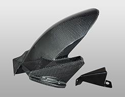 VFR800(14年) リアフェンダー FRP製・黒 MAGICAL RACING(マジカルレーシング)