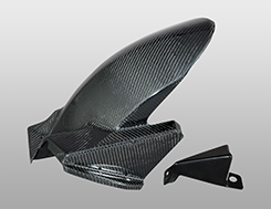 VFR800(14年) リアフェンダー 綾織りカーボン製 MAGICAL RACING(マジカルレーシング)