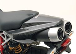DUCATI HyperMotard テールカウル 綾織りカーボン製 MAGICAL RACING(マジカルレーシング)