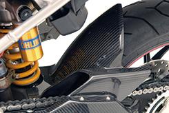 DUCATI HyperMotard リアフェンダー 綾織りカーボン製 MAGICAL RACING(マジカルレーシング)