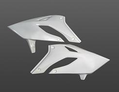 250SB(04~07年) ラジエターシュラウド(左右セット) FRP製・白 MAGICAL RACING(マジカルレーシング)
