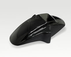 RG400ガンマ フロントフェンダー(純正形状)FRP製・黒 MAGICAL RACING(マジカルレーシング)