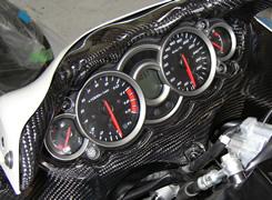 GSX1300R(隼)08年 カウルインナーパネル 平織りカーボン製 MAGICAL RACING(マジカルレーシング)