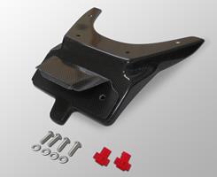 GSX1300R(隼)08年 フェンダーレスキット(ナンバープレート灯キット付き)平織りカーボン製 MAGICAL RACING(マジカルレーシング)