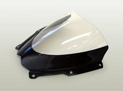 GSX-R1000(07~08年) カーボントリムスクリーン 平織りカーボン製/スモーク MAGICAL RACING(マジカルレーシング)
