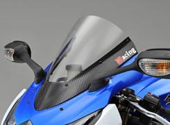 GSX-R1000(09年) カーボントリムスクリーン 綾織りカーボン製/クリア MAGICAL RACING(マジカルレーシング)