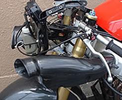 GSX-R600(01~02年) エアダクト 平織りカーボン製 MAGICAL RACING(マジカルレーシング)
