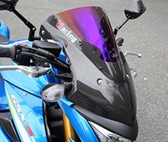 カーボントリムスクリーン 綾織りカーボン製 スーパーコート MAGICAL RACING(マジカルレーシング) GSX-S1000(16年~)