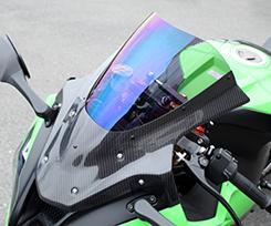 高価値セリー ZX-10R(12~15年) バイザースクリーン/綾織りカーボン製/スーパーコート MAGICAL RACING(マジカルレーシング), コクフチョウ c3500069