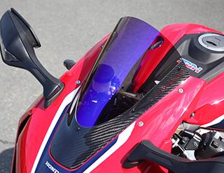 カーボントリムスクリーン 綾織りカーボン製 クリア MAGICAL RACING(マジカルレーシング) CBR1000RR(17年)