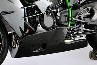 アンダーカウル FRP製 黒 MAGICAL RACING(マジカルレーシング) Ninja H2