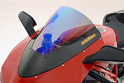 DUCATI 1098 カーボントリムスクリーン 平織りカーボン製/スーパーコート MAGICAL RACING(マジカルレーシング)