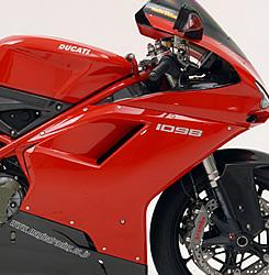DUCATI 1098 サイドカウル 左側 綾織りカーボン製 MAGICAL RACING(マジカルレーシング)
