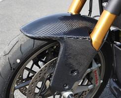 DUCATI 1098 GPフロントフェンダー FRP製・黒 MAGICAL RACING(マジカルレーシング)
