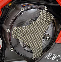 DUCATI 1098 乾式クラッチ用カバー タイプ3 綾織りカーボン・ケプラー製 MAGICAL RACING(マジカルレーシング)