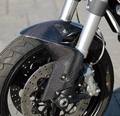 DUCATI Monster696 フロントフェンダー 綾織りカーボン製 MAGICAL RACING(マジカルレーシング)