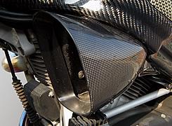 BUELL XB9R FireBolt(03~05年) エアダクト 綾織りカーボン製 MAGICAL RACING(マジカルレーシング)