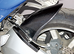 BUELL XB9R FireBolt(03~05年) リアフェンダー FRP製・白 MAGICAL RACING(マジカルレーシング)
