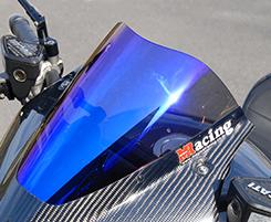 DUCATI Diavel(11~14年) バイザーカウル用スクリーン(STDタイプ)スーパーコート MAGICAL RACING(マジカルレーシング)