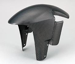 DUCATI Monster900(03年~) フロントフェンダー・エアロフォークガード付 平織りカーボン製 MAGICAL RACING(マジカルレーシング)