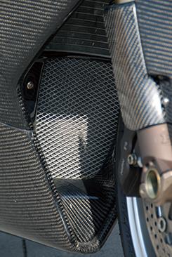 Mv Agusta F4(00~09年) フロントパネル 平織りカーボン製 MAGICAL RACING(マジカルレーシング)