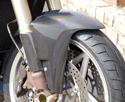 Mv Agusta BrutaleブルターレS(03年) フロントフェンダー/綾織りカーボン製 MAGICAL RACING(マジカルレーシング)
