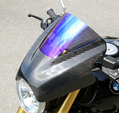アッパーカウル 平織りカーボン製 スーパーコート MAGICAL RACING(マジカルレーシング) BMW R nine T