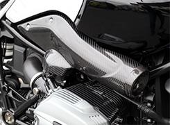 サイドダクト 平織りカーボン製 MAGICAL RACING(マジカルレーシング) BMW R nine T