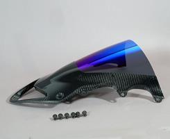 BMW S1000RR(10~14年) カーボントリムスクリーン 綾織りカーボン製/クリア MAGICAL RACING(マジカルレーシング)