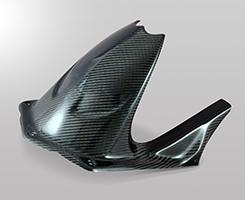 BMW S1000RR(10~11年) リアフェンダー 綾織りカーボン製 MAGICAL RACING(マジカルレーシング)