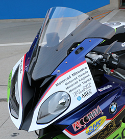 BMW S1000RR(15年) カーボントリムスクリーン 平織りカーボン製/クリア MAGICAL RACING(マジカルレーシング)