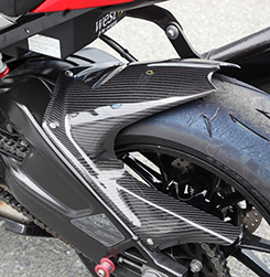 リアフェンダー 綾織りカーボン製 MAGICAL RACING(マジカルレーシング) BMW S1000R(14年~)