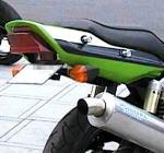 ZRX1100 フェンダーレスKit ブラック MORIYAMA(モリヤマエンジニアリング)