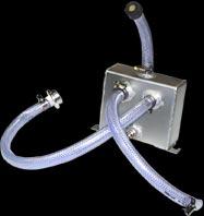 GPZ1000RX オイルキャッチタンク TYPE B(縦置きツインホースタイプ) シルバー MORIYAMA(モリヤマエンジニアリング)