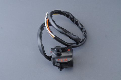 CB750Four(K0) 1本引きスターターライティング黒キルスイッチ エムテック中京(M-TEC中京)