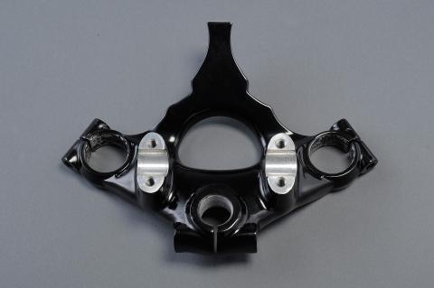 CB750Four(K0初期) アルミトップブリッジ 穴なし エムテック中京(M-TEC中京)