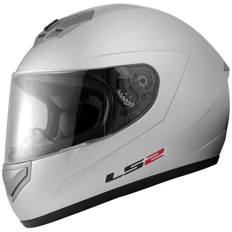 LS2 MARS(マーズ)シルバー XLサイズ(61~62cm) フルフェイスヘルメット MHR