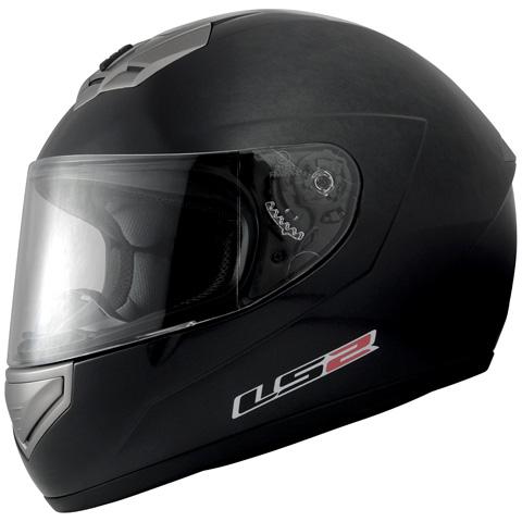 LS2 MARS(マーズ)ブラックメタリック Lサイズ(59~60cm) フルフェイスヘルメット MHR