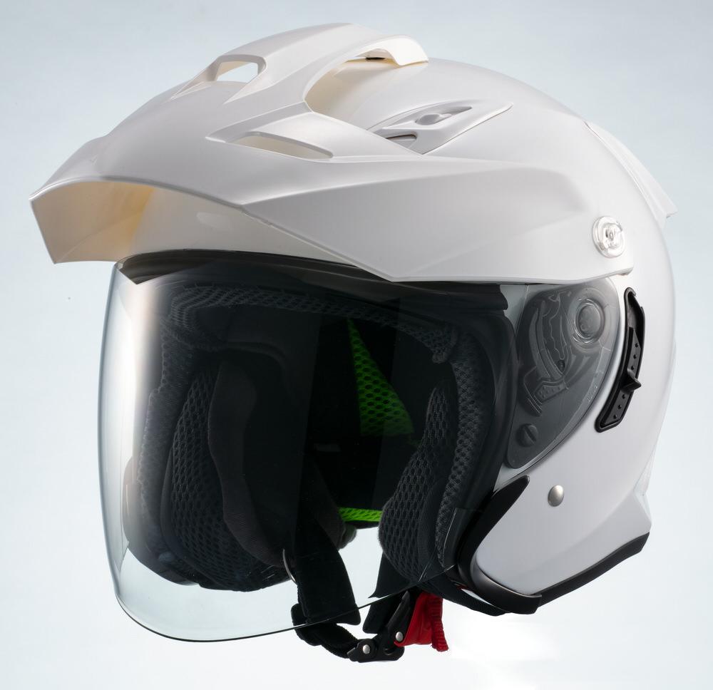 MSJ1 TE1 ジェットヘルメット ホワイト XLサイズ MARUSHIN(マルシン)
