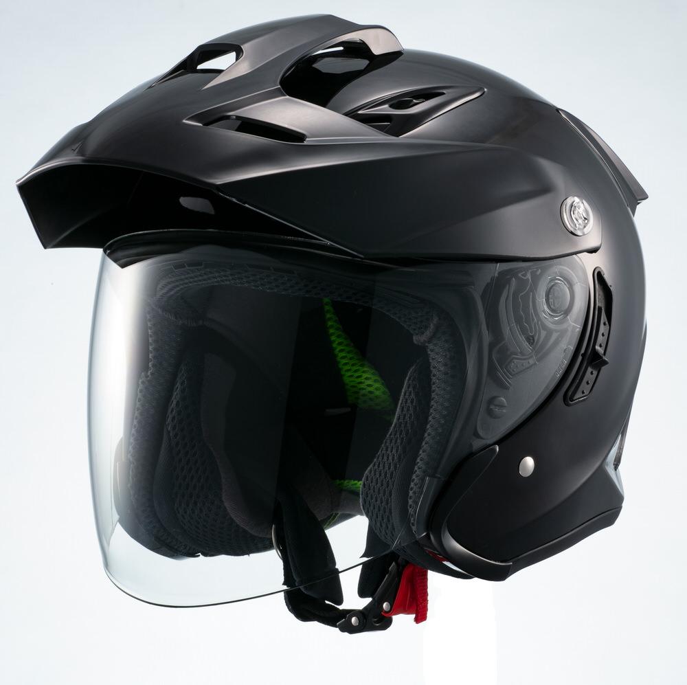 MSJ1 TE1 ジェットヘルメット ブラック Mサイズ MARUSHIN(マルシン)