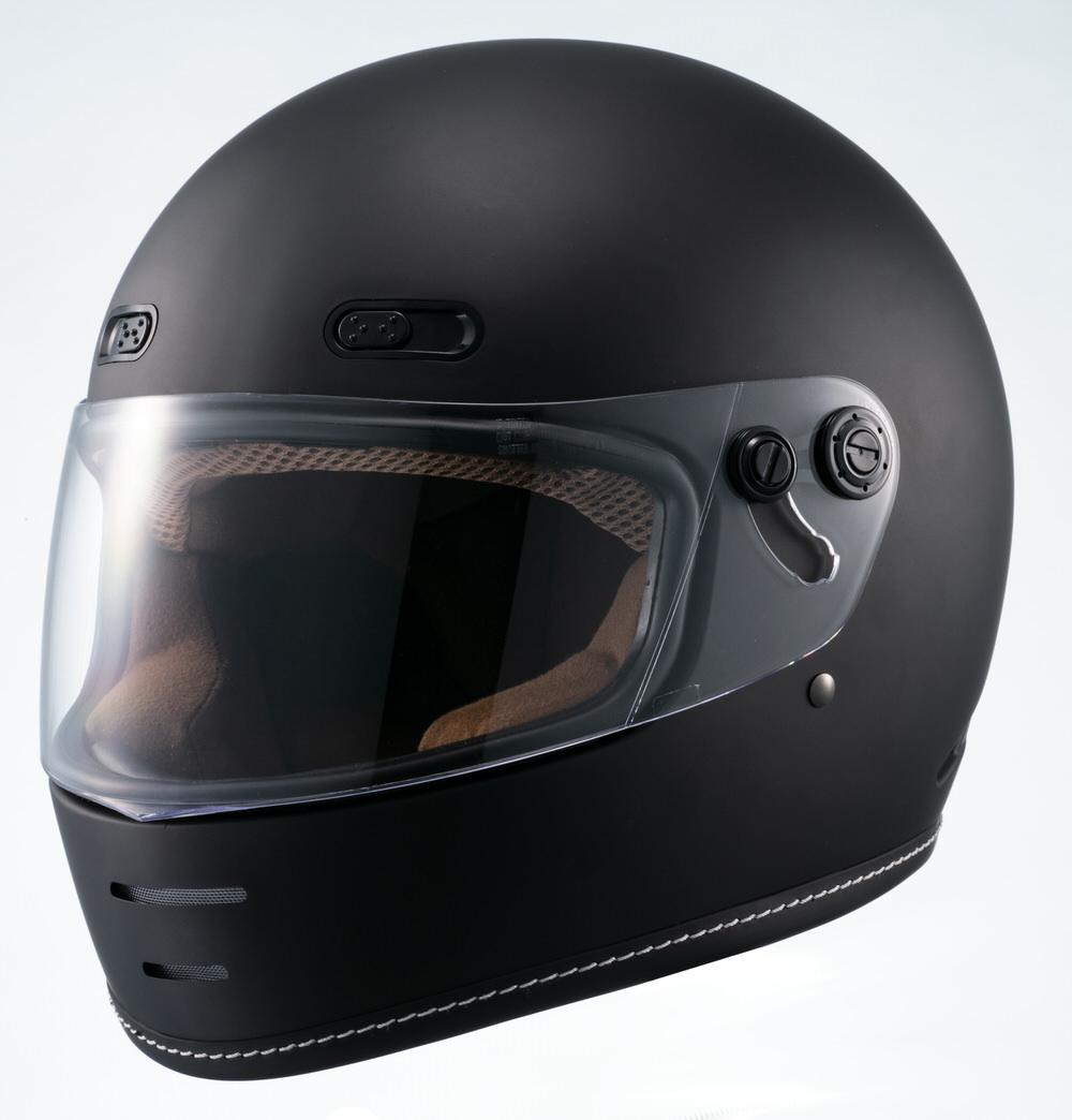 MNF1 END MILL フルフェイスヘルメット マットブラック Lサイズ MARUSHIN(マルシン)