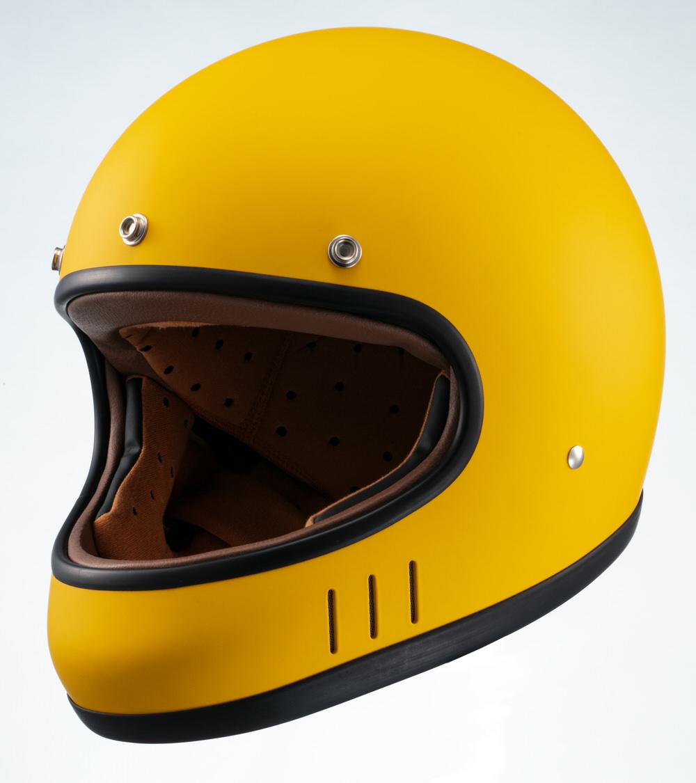 MNF2 DRILL フルフェイスヘルメット マスタードイエロー Lサイズ MARUSHIN(マルシン)