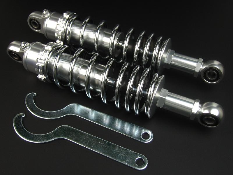 モンキー(MONKEY) スーパー快速ガスリアショック285~305mmメッキ MINIMOTO(ミニモト)